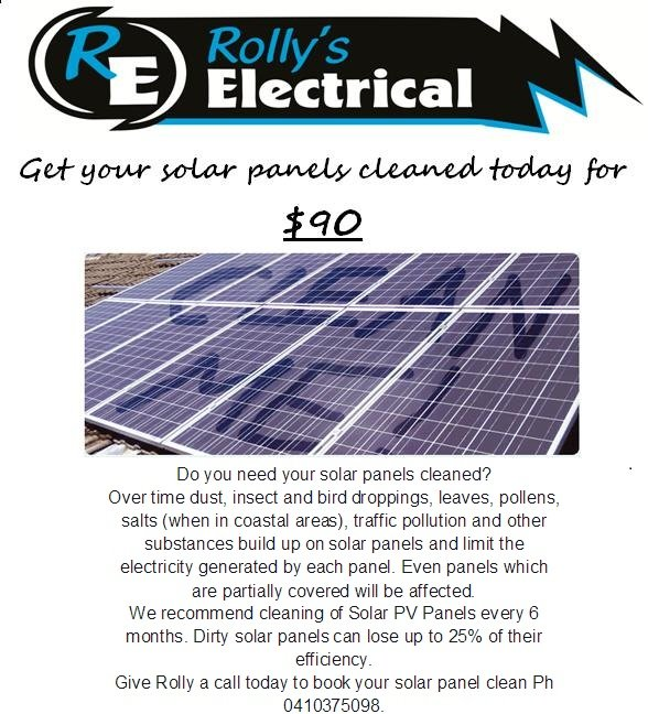 Rolly's April Solar Special